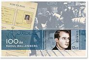 Frimärke Raol Wallenberg