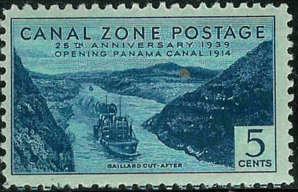 Canal Zone 1939