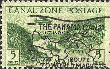 Canal Zone slogan