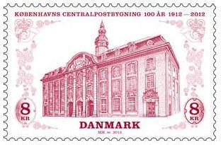 Centralpostbygning i København 2012