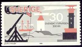 Svenskt fyrväsende 300 år.