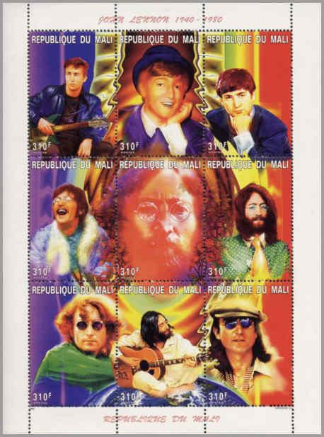 John Lennon Mali 1997.
