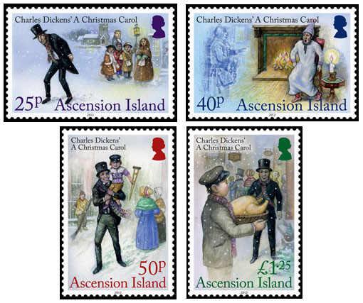 Ascension Island - En julsaga av Charles Dickens