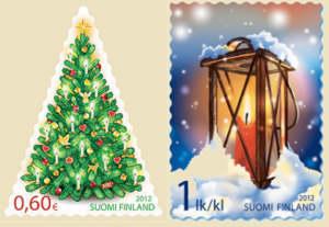 Finland julfrimärke 2012