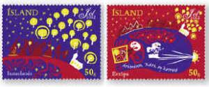 Island julfrimärke 2012