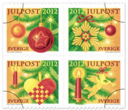 Sverige julfrimärke 2012