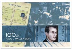 Raoul Wallenberg block Sverige 2012
