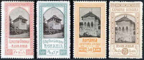 Rumänien 1906 lantgård kungapaviljong