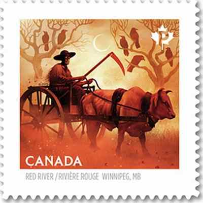Haunted Canada - Red River Valley ox cart