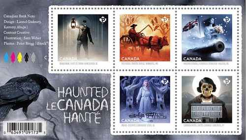 Haunted Canada - Souvenirblock