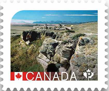Head-Smashed-In Buffalo Jump, Alberta