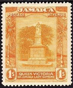 Jamaica one shilling 1920