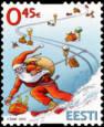 Estlands julfrimärken 2012