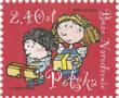 Polen julfrimärke 2012